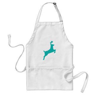 Teal deer standard apron