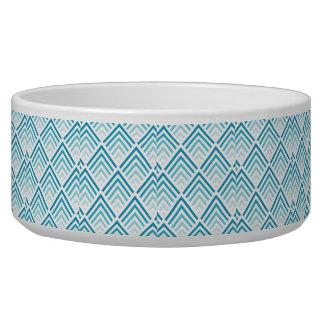 Teal Design Pet Bowl (Large)