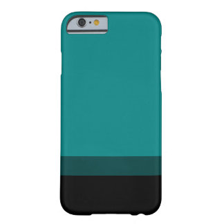 Teal Fade To Black Case Barely There iPhone 6 Case