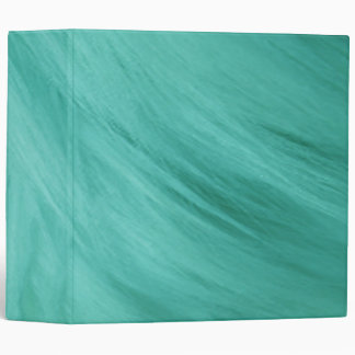 "Teal Fur Print 2"" Avery Binder"