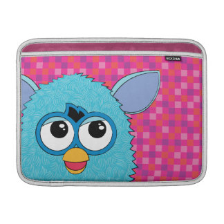 Teal Furby MacBook Air Sleeves