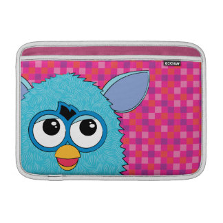 Teal Furby MacBook Sleeves