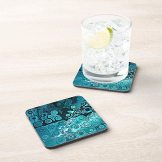 Teal Glass Coaster