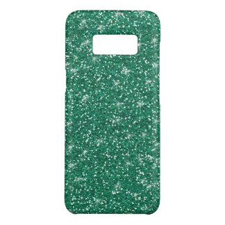 Teal Glitter Printed Case-Mate Samsung Galaxy S8 Case