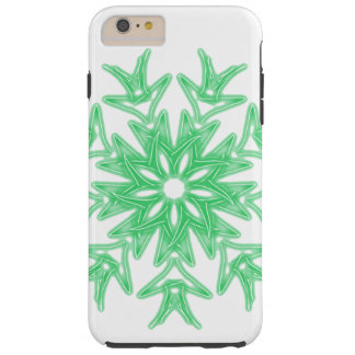 Teal Green Palm ~ Tough iPhone 6 Plus Case