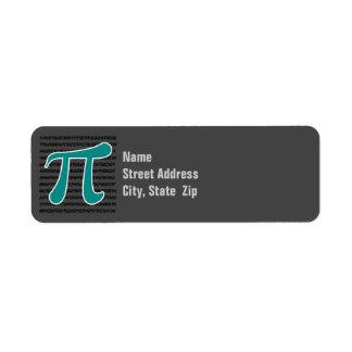 Teal Green Pi symbol