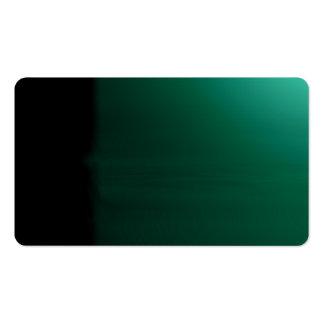 Teal Green Unusual Visual Identifiers Biz Card Pack Of Standard Business Cards