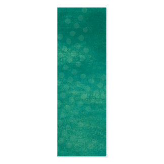 Teal Grunge Background Mini Bookmarks Business Card Template