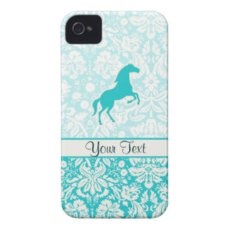 Teal Horse iPhone 4 Covers