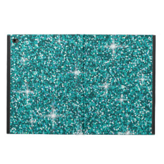 Teal iridescent glitter powis iPad air 2 case