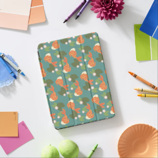 Teal Koi Pond iPad Air Cover