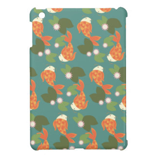 Teal Koi Pond iPad Mini Case