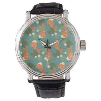 Teal Koi Pond Watch
