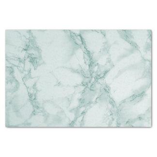 Teal Marble Design Tissue Paper