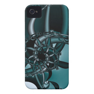 Teal Mechanism iPhone 4 Covers