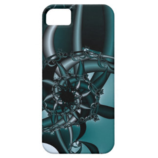 Teal Mechanism iPhone 5 Covers