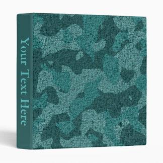 Teal Military Camo Binder Album