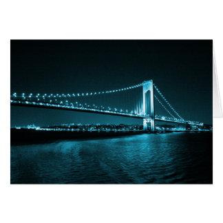 Teal Narrows Bridge card