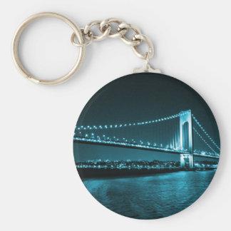 Teal Narrows Bridge keychain