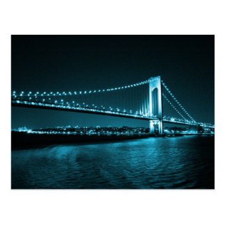 Teal Narrows Bridge postcard