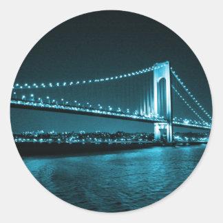 Teal Narrows Bridge sticker