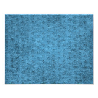 Teal Nubby Chenille Fabric Photographic Print