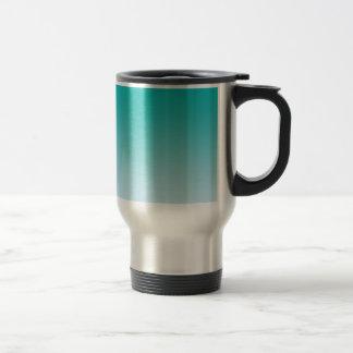 Teal Ombre Travel Mug