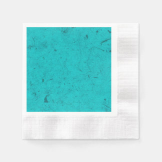 Teal Papyrus Disposable Napkins