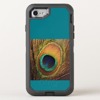 Teal Peacock 4Carla OtterBox Defender iPhone 8/7 Case