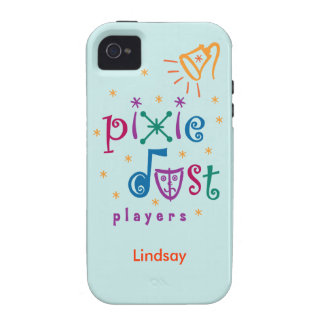 Teal Pixie Dust Players iPhone 4 Case