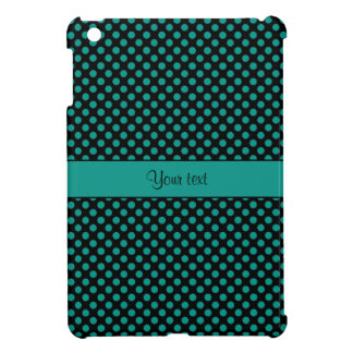 Teal Polka Dots Cover For The iPad Mini