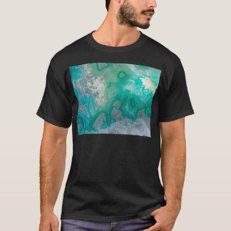Teal Quartz Geode T-Shirt