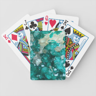 Teal Rock Candy Quartz Bicycle Playing Cards
