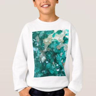 Teal Rock Candy Quartz Sweatshirt