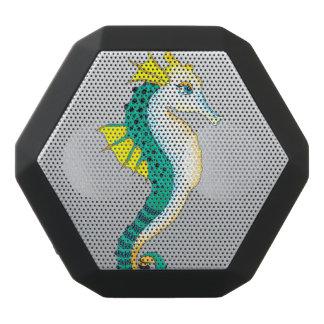 teal seahorse grey black bluetooth speaker