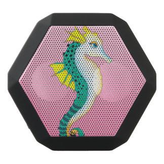 teal seahorse pink black bluetooth speaker