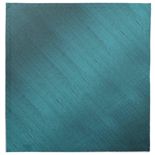 Teal Silk Cloth Napkin