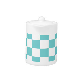 Teal Sky Checkerboard