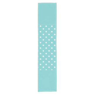 Teal Sky Polka Dot Table Runner