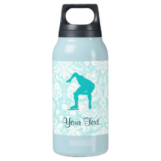 Teal Speed Skater 10 Oz Insulated SIGG Thermos Water Bottle