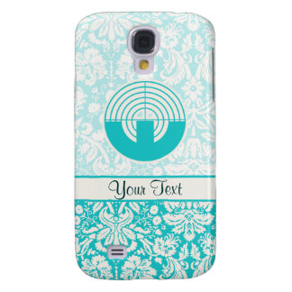 Teal Sport Shooting Galaxy S4 Case