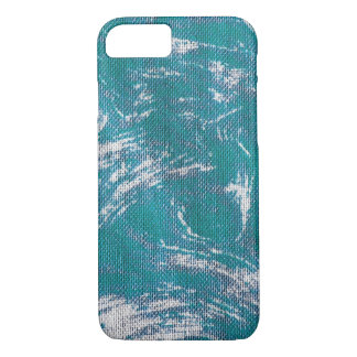 Teal Swirl iPhone 8/7 Case
