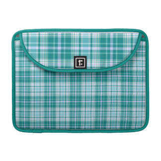 Teal Tartan MacBook Pro Sleeve 13""