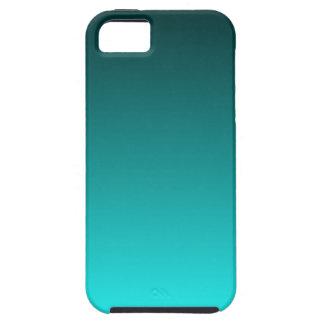 Teal to Aqua Gradient iPhone 5 Cases