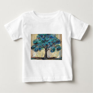 Teal Tree Baby T-Shirt