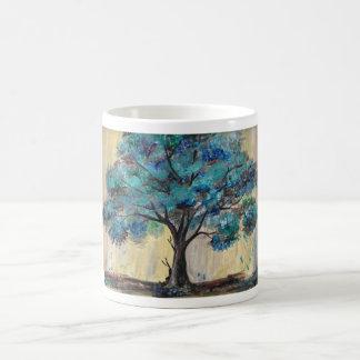 Teal Tree Coffee Mug