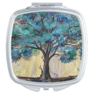 Teal Tree Makeup Mirror