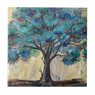 Teal Tree Tile