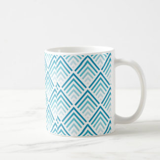 Teal Triangle Mug