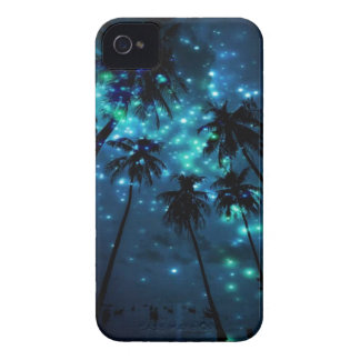Teal Tropical Paradise iPhone 4 Phone Case